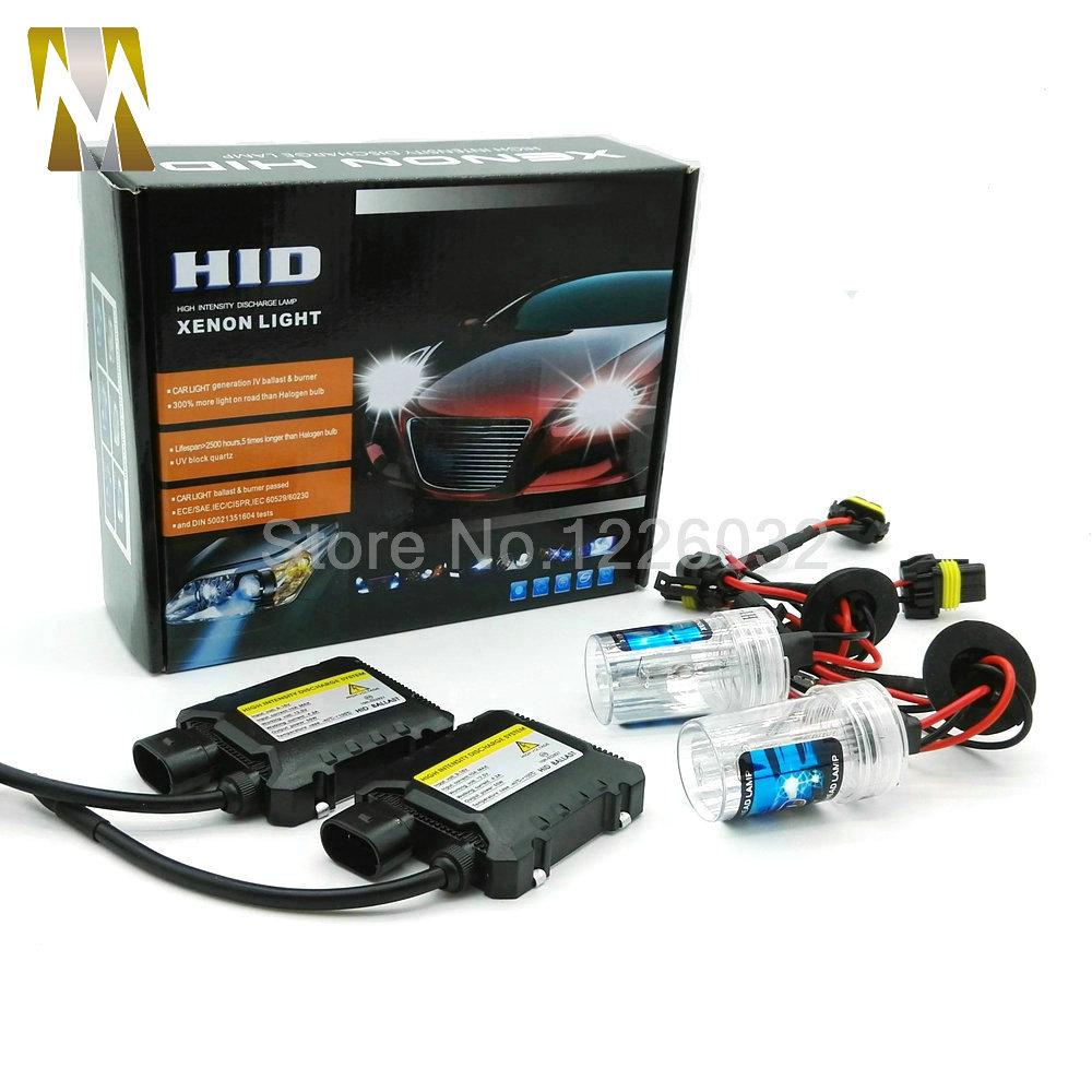 Prix pour Xénon H1 Hid Kit 55 W H7 H3 H4 xenon H7 H8 H10 H11 H27 HB3 HB4 H13 9005 9006 source de lumière De Voiture xénon