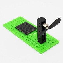 Дети DIY игрушка головоломка монтажный комплект солнечной энергии наука генерировать электричество эксперимент Творческий физика обучающие материалы