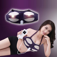 Electric Massage Body Chest Breast Massage Tool Health Products Enhancer Grow Bigger Magic Vibrating Bra Infrared Bigger Breast