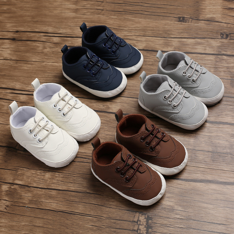 Spring and Autumn 0-1 years old male baby casual soft bottom shoes baby toddler shoes