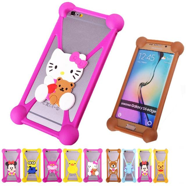 Fashion Cartoon Minnie Anti Knock Tpu Silicone 3d Cell Phone Cases