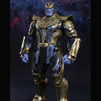 Hot Toys Compatible Marvel Thanos in Avengers 36cm BJD Joints Moveable Action Figure Toys for New Year Gift