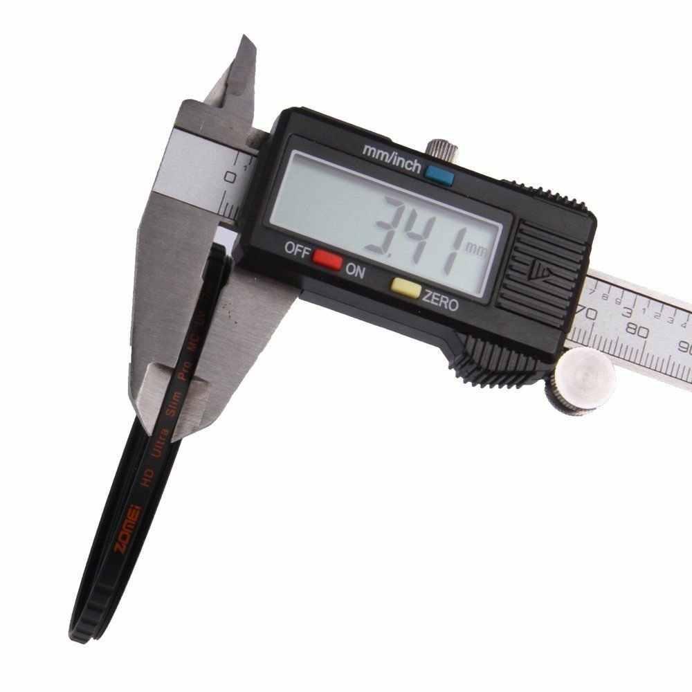 ZOMEI Filtro Camera Ultra Slim HD MC filtro UV 40.5/49/52/55/58/62 /67/72/77/82mm 18 Camada Multi-Revestimento Para Canon Nikon Sony