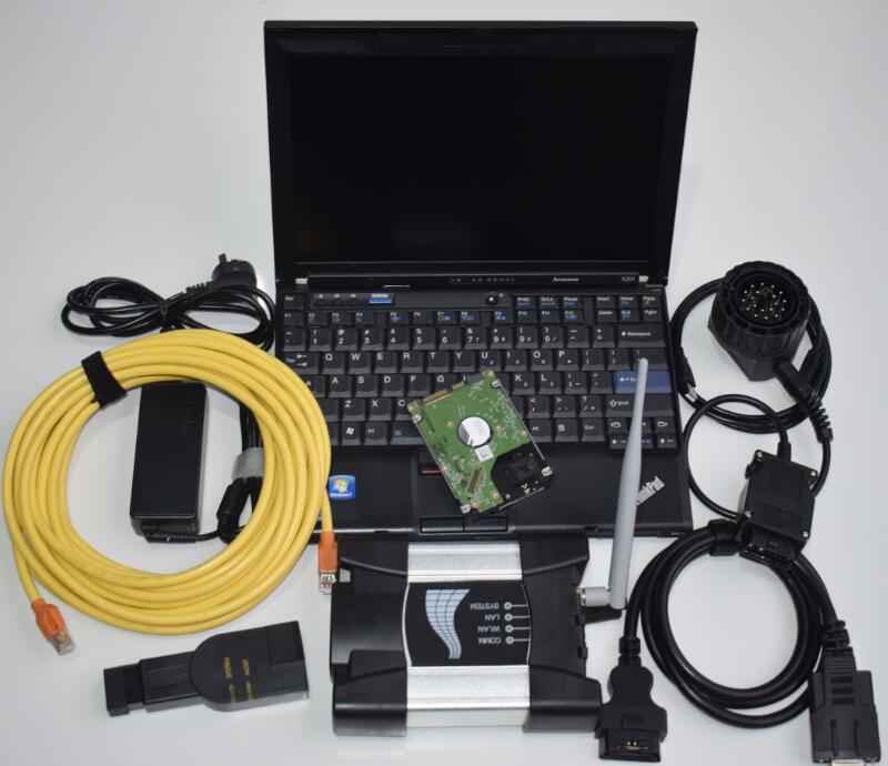 Trendmarkierung Spezielle Für Bmw Icom Nächsten Wifi Mit Laptop + Hdd Software V2018.12 + X201 (8g) Bereit Zu Arbeiten 3in1 Programmierung Und Diagnose Neueste Technik