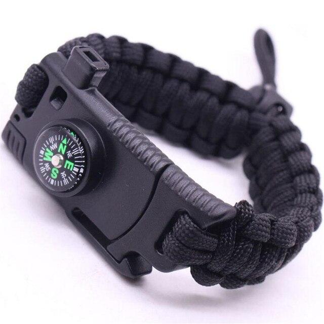 Плетеный браслет для мужчин многофункциональные регулируемые