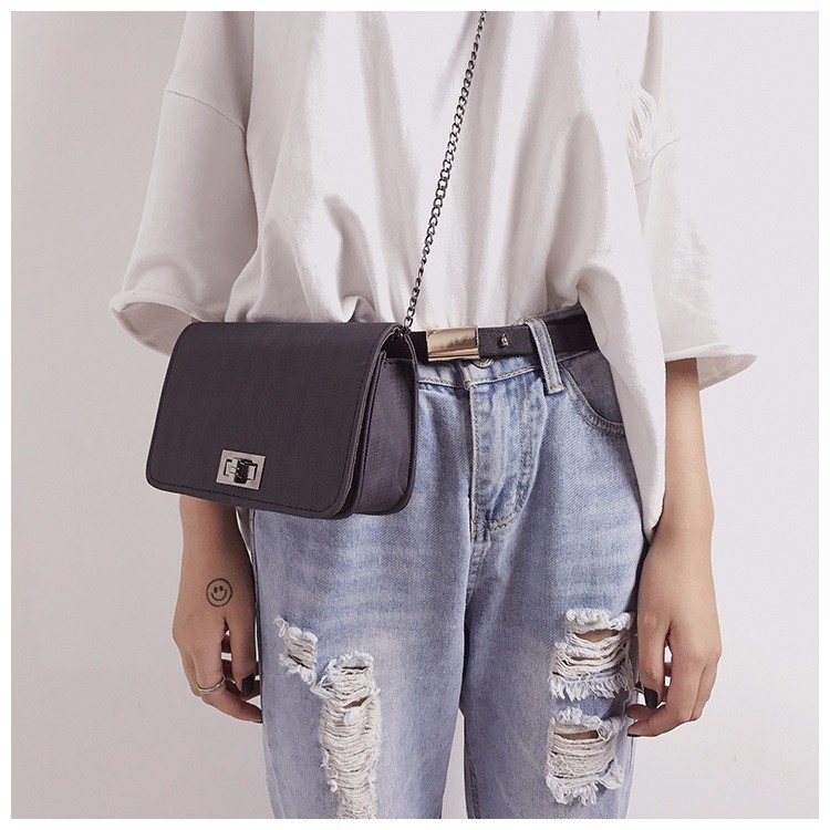 Summer Fashion Women Bag Handbags PU Shoulder Bag Small Flap Crossbody Bags for Women Messenger designer handbags high quality in Shoulder Bags from Luggage Bags