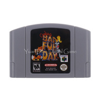 Nintendo N64 Video Game Cartridge Console Card Conker S Bad Fur Day English Language EU Version