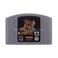 Nintendo N64 Video Game Cartridge Console Card Conker S Bad Fur Day English Language EU Version