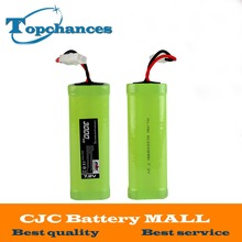 High Quality 7.2V 3000mAh Flat NiMH High Power Battery Packs with Tamiya Connectors for RC Cars