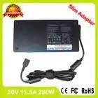Тонкий 20 V 11.5A 230 Вт ноутбук ac адаптер питания зарядное устройство для lenovo ThinkPad P70 P50 P71 P72 P51 5A10H28356 ADL230NDC3A PA 1231 12LA - 2