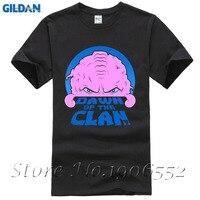 Cartoon Custom O Neck Organic Cotton Dawn Of The Clan Men T Shirt Adult T Shirts