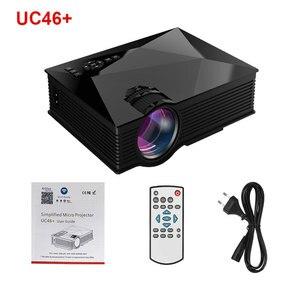 Image 5 - Salangeโปรเจคเตอร์Mini UC46 800X480 1800 ลูเมนLEDโปรเจคเตอร์โฮมเธียเตอร์WIFIสนับสนุนMiracast/Airplay Full HD Proyector