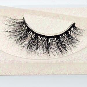Image 3 - Visofree Eyelashes 3D Mink Lashes natural handmade  volume soft lashes long eyelash  extension real mink eyelash for makeup E01