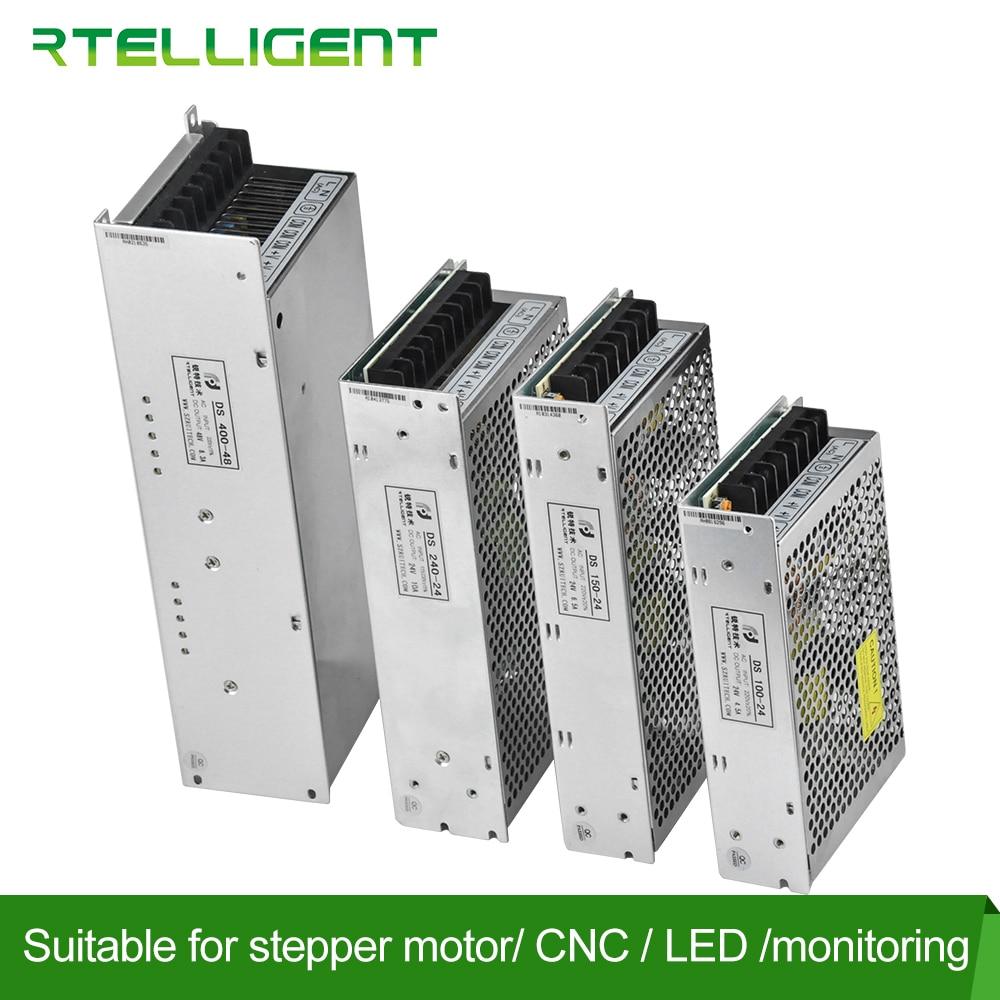 Alimentation électrique commutation 24V 48V cc | 100W 150W 240W 400W W, transformateur de Source Ac SMPS Rtelligent 24v, vente