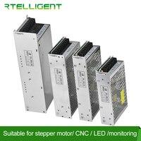 SALE DC 24V 48V Switching Power Supply 100W 150W 240W 400W Source Transformer Ac Dc SMPS Rtelligent Power Supply