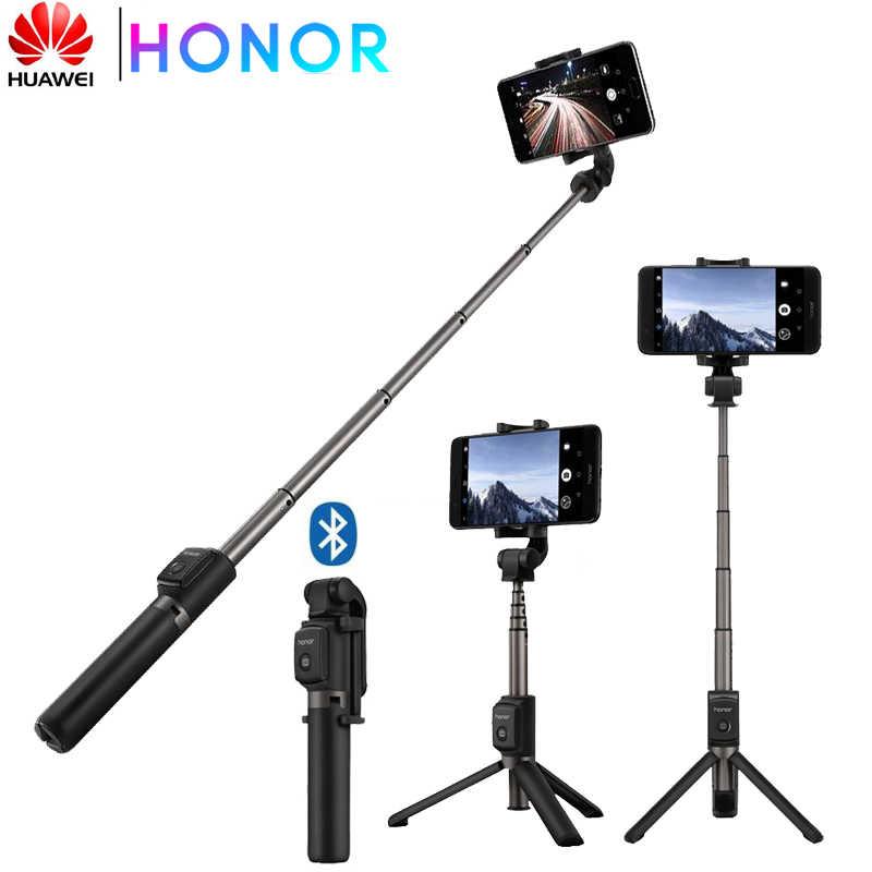 Huawei Selfie Stick Kehormatan Tripod Portable Bluetooth3.0 Monopod untuk IOS Android Huawei Ponsel 640 Mm 163G