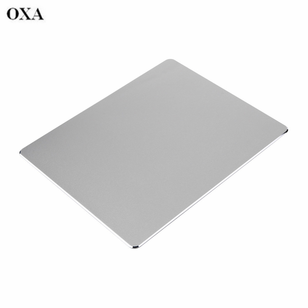 ORIGINAL OXA Aluminium Metal Gaming Mouse Pads Mice Mat Mousepad With Anit-slip PU Leather Excellent Creatively Drop Shipping