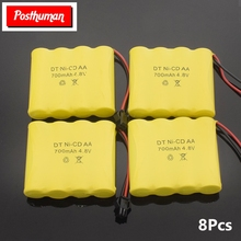 POSTHUMAN Lithium for 4.8v pack RC boat model car toy 4.8v 700mah rechargeable ni-cd battery remote control toys electric car 1 14 rastar rc car remote control toys usb rechargeable built in battery door can open lit lights without retail box 71060