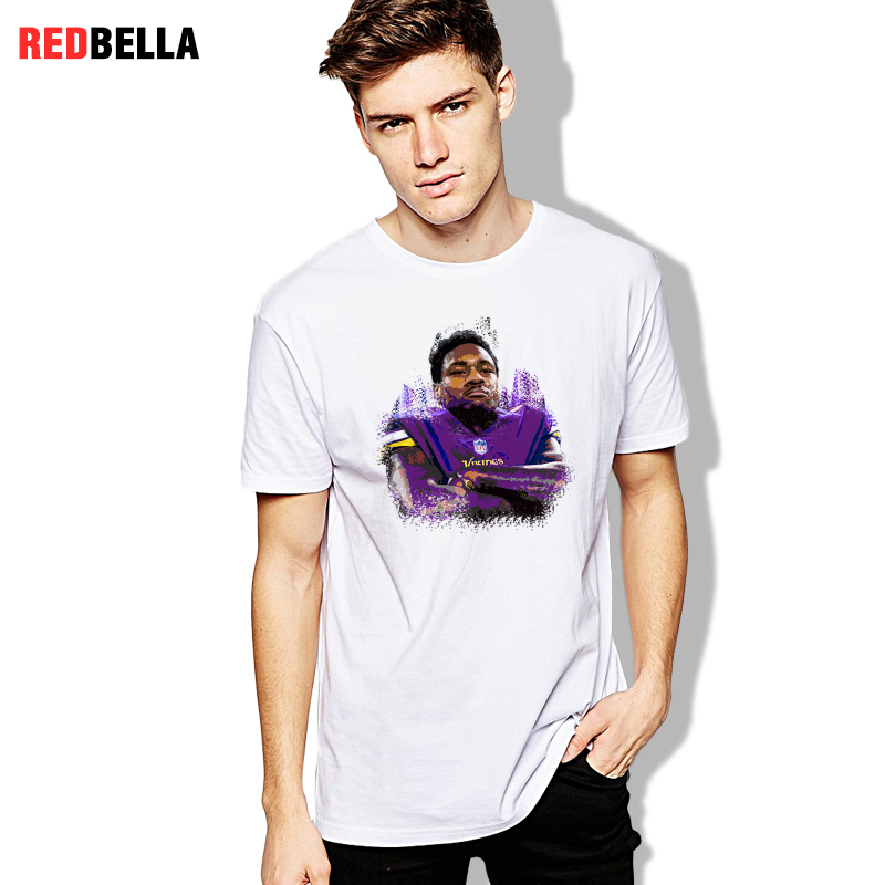 2018 New Arrival Cotton Men T shirt Odin Stefon Diggs Character Man Tees  Minnesota Viking Popular printed Clothing-in T-Shirts from Men s Clothing  on ... 5fdddf0b3