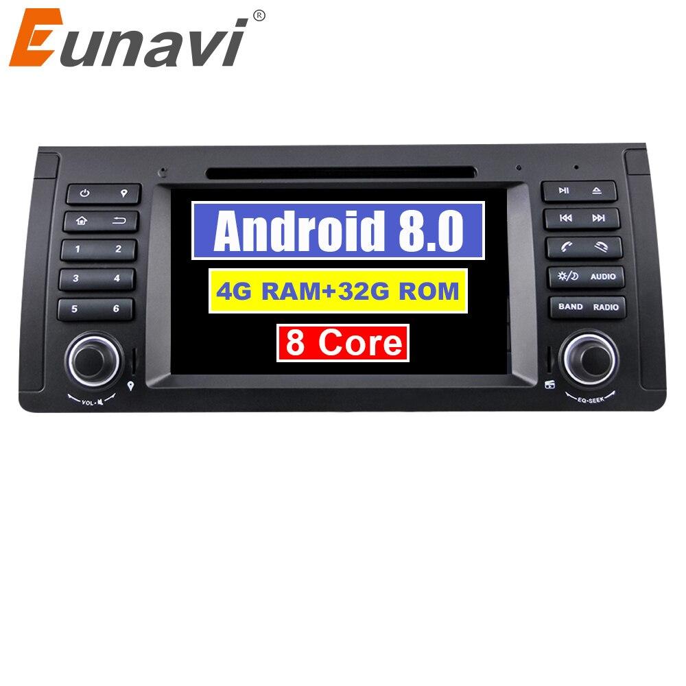 Eunavi 1 din Octa 8 Core 7 Android 9.0 PC 1Din Car DVD Player GPS Navi Radio Stereo For BMW E53 E39 X5 Support TV 4G RAM WiFiEunavi 1 din Octa 8 Core 7 Android 9.0 PC 1Din Car DVD Player GPS Navi Radio Stereo For BMW E53 E39 X5 Support TV 4G RAM WiFi