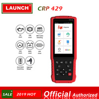 Launch CRP429 OBD2 Diagnostic Scan Tool Android 7.0 All System Diagnoses CRP 429 ABS Bleeding, Injector Coding, IMMO Key Program
