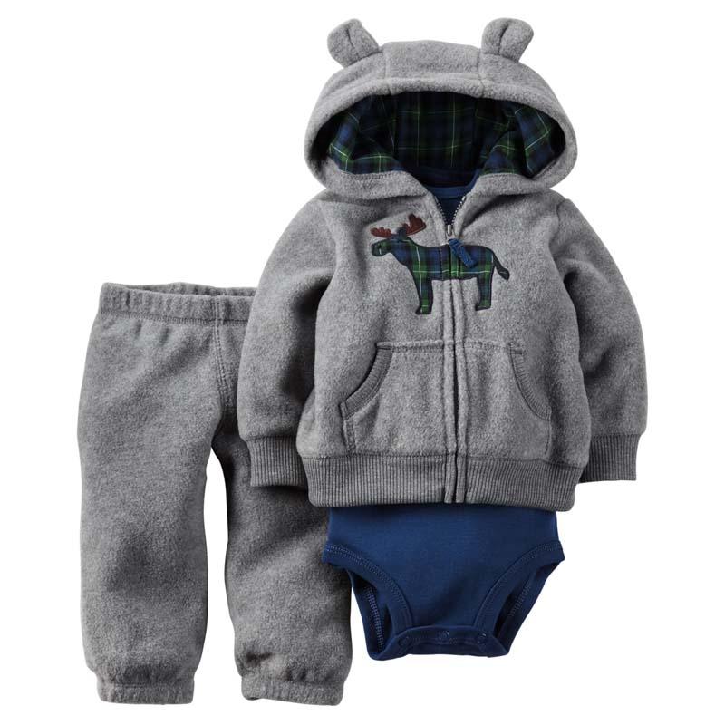 2017 new model Autumn and winter baby boy girl clothes set ,kids bebes newborn boy girl 3pcs clothing set ,roupas bebes meninos