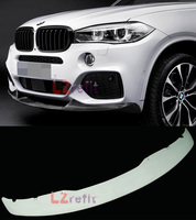 UNPAINTED P Style Front Lip Spoiler For BMW F15 X5 M Sport Bumper 2014UP