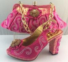 Schuhe Und Tasche Zu Passen Italienische African Hochzeit Schuh Und Tasche Sets Hohe Qualität Matching Schuhe Mit Tasche Set Für Party ME3310