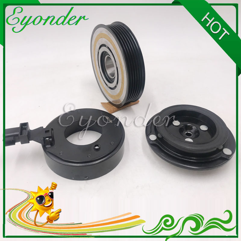 US $31 35 5% OFF RS18 AC A/C Air Conditioning Cooling Pump Compressor  Clutch Assembly Pulley for Jeep Grand Cherokee V6 3 6L 3 6 2011 2013-in  Fans &