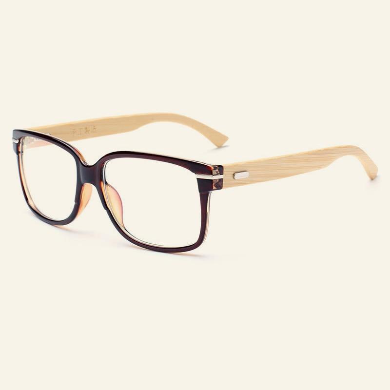 Cool Bamboo Glasses Frames Handmade Excellent Wood Eyeglasses Men ...