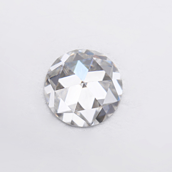 Mozanit diamonds EF white colorless 5mm rose cut moissanites loose gems stones for jewelry making excellent quality