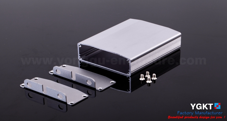 64*25.5*80mm SATA HDD/SSD Aluminum Exteranl HDD Case / High Quality Customized Aluminum Enclosure