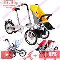 Ciclismo travling compras transportadoras para a mamã & do bebê taga bicicleta carrinho de bebê