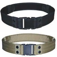 Tactique Simple ceinture équipement de plein air porter sac équitation à l'intérieur en Nylon sac adjoint ventilateurs militaires ceinture fixation ruban offres spéciales