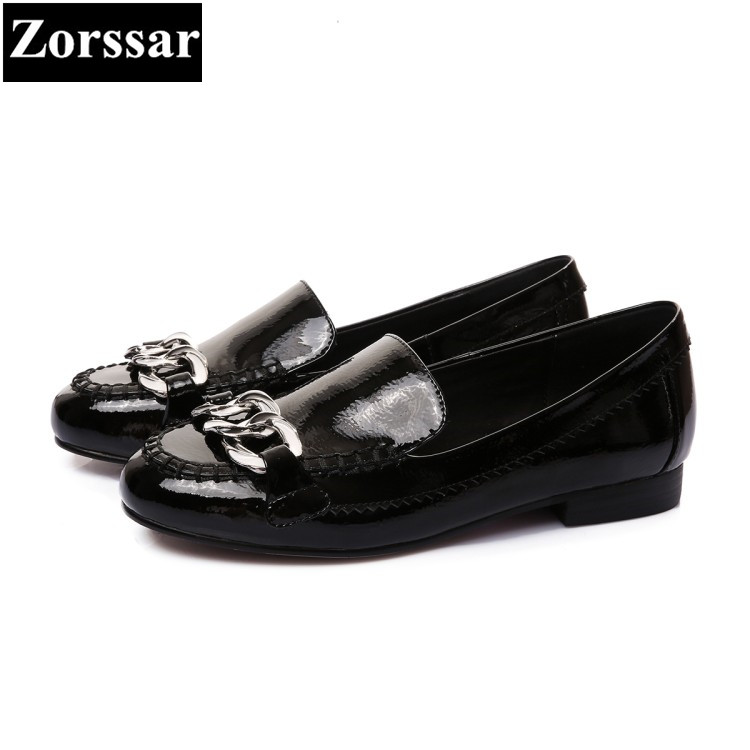 {Zorssar} 2018 Fashion chain Genuine leather Women Oxford Shoes Woman Flats Casual comfort round toe slip on Women Flat shoes amandeep gill manbir kaur and nirbhowjap singh speed control of brushless dc motor by neural network pid controller