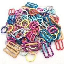 50 шт. крючок для бюстгальтера, галстук-бабочка, запонки, оборудование для галстука, крючки для галстука, зажимы для крепления, чтобы сделать регулируемые ремни на галстуке-бабочке, пряжки dip