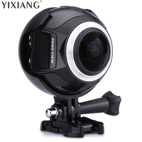 YIXIANG V1 WIFI 3K 30FPS 16MP Sport Action Camera 360 Degree Ultra HDMI HD Output Mini Panoramic Video 3D VR Camera with Mult