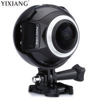 YIXIANG V1 WIFI 3 K 30FPS 16MP Sport Actie Camera 360 Graden Ultra HDMI HD Output Mini Panoramische Video 3D VR Camera met Mult