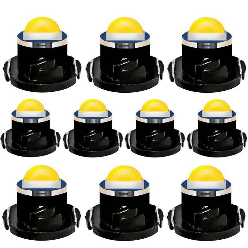 10pcs T4.2 LED Super Bright CREE Chips SMD LED Car Board Instrument Panel Lamp Auto Dashboard Warming Indicator Wedge Light 10X