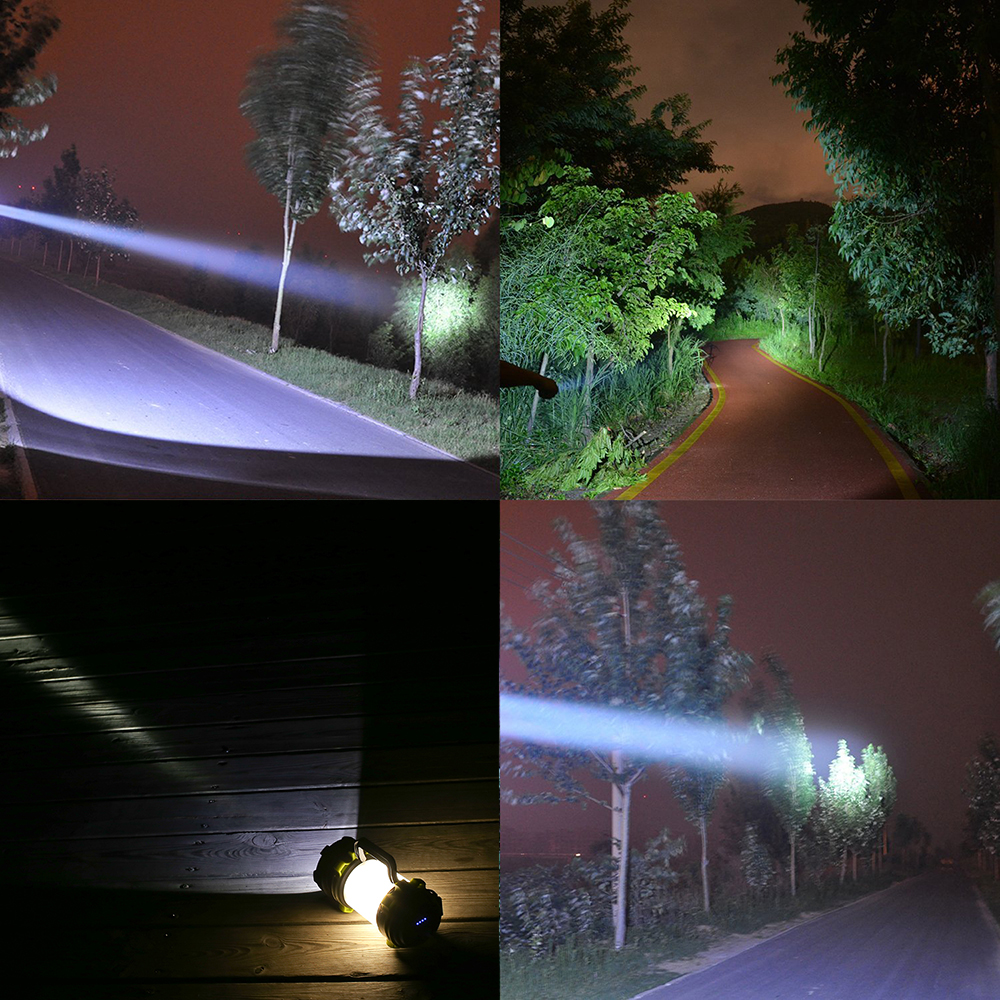 Купить с кэшбэком Super bright LED Flashlight Portable Spotlights searchlight XP-G2 USB Rechargeable torch led camping light working light
