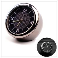 Watch in Auto for V W cc up passat b6 b7 b8 mk5 golf 2 3 6 7 g ti mk2 tiguan 2017 Mini Round black pointer Auto   clock