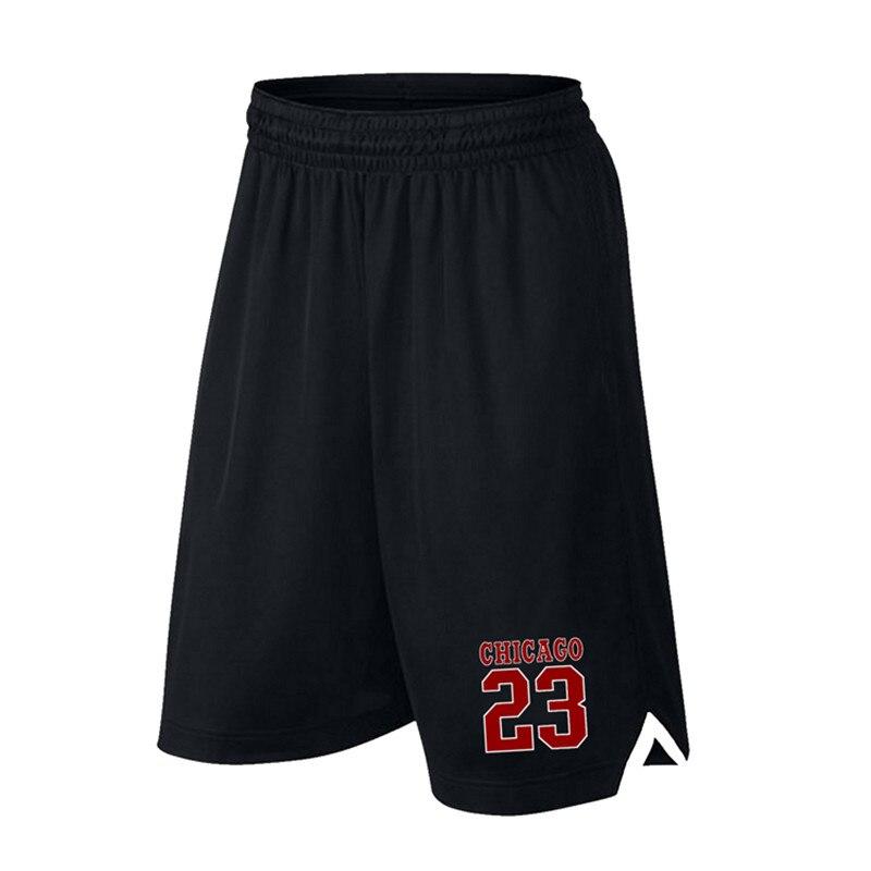 Męskie szorty do koszykówki sportowe do biegania oddychające szorty z kieszeniami letnie sportowe spodenki męskie