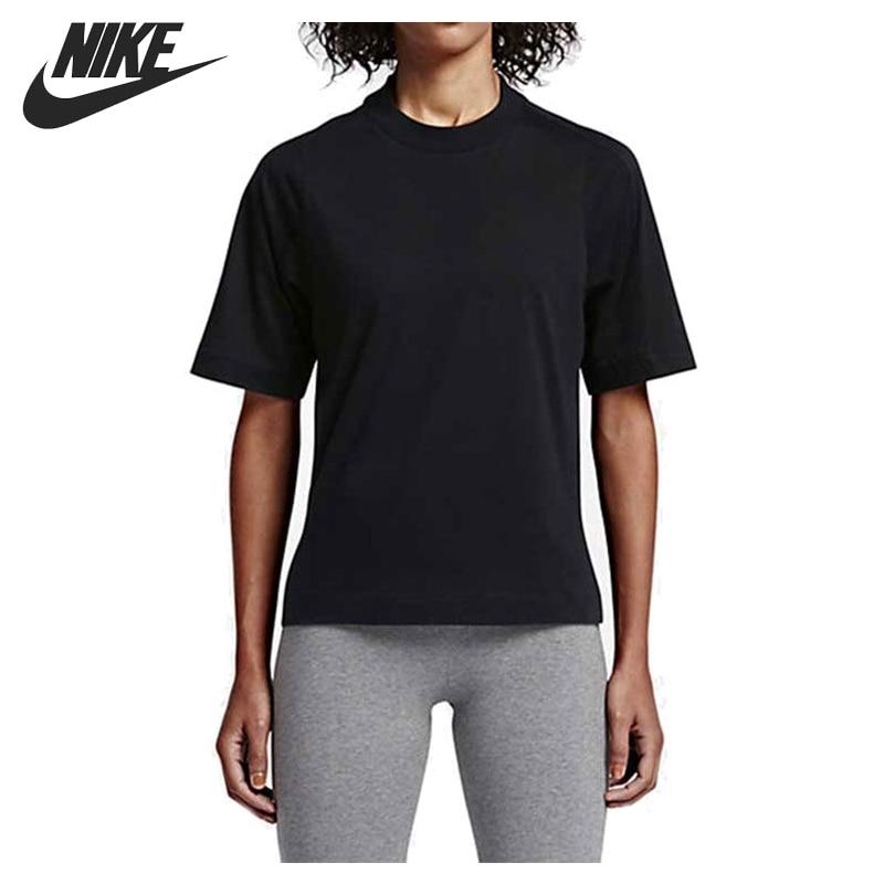 ФОТО Original New Arrival  NIKE AS W NSW TOP BND Women's T-shirts short sleeve Sportswear