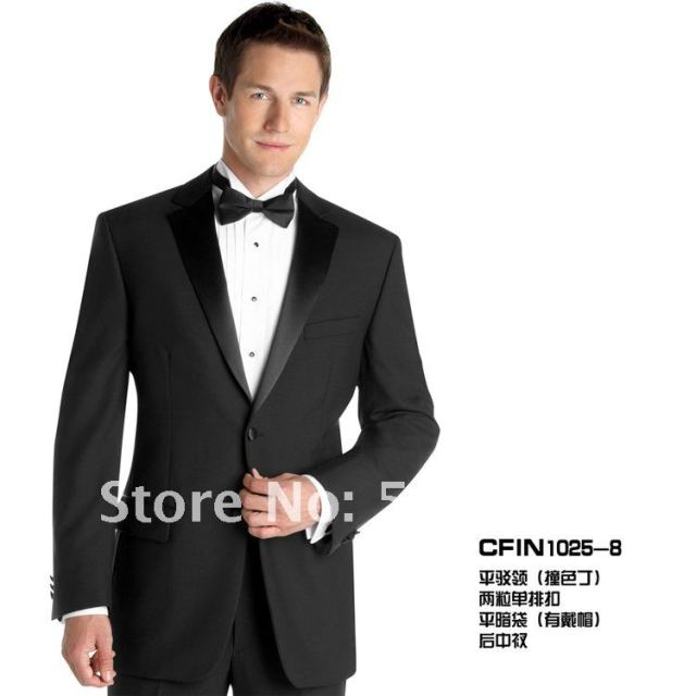 Wholesale Free shipping Tuxedos Wedding Groomsman Men Bridegroom ...