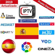 Suscripcion IPTV M3U Iptv Spanish UK German French Spanish Mediaset Premium Sky Sport Primafila Android Box Enigma2 Smart TV PC(China)