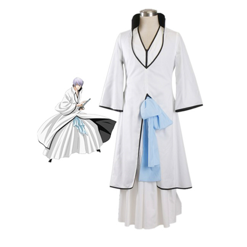 Anime Bleach Cosplay Aizen Sousuke Costume Custom Made