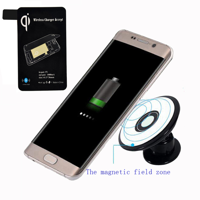 Magnetic car holder wireless charger 10