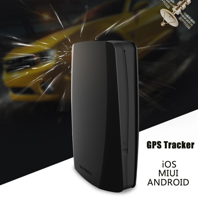 GPS positioning tracker QUtiger GPS vehicle positioning terminal anti - theft tracker car GPS Tracker free App