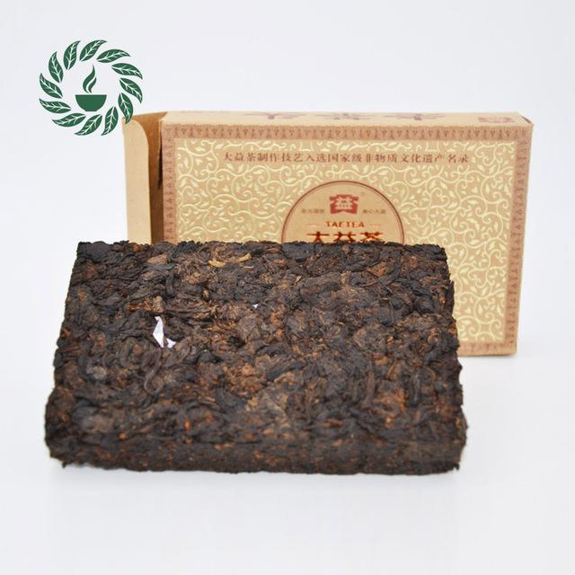 Yunnan Puer Tea 2011 Yr Classic Menghai Dayi 101 batches Ripe Puer Brick Tea 250g,Chinese brand Pu'er #
