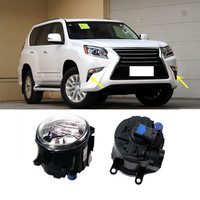 Fit For Lexus GX400 GX460 2013 2015 2PCS Front Fog Lamp Cover Replacement